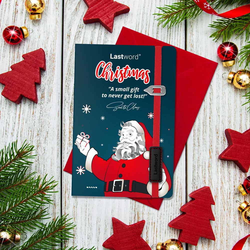 Christmas design bookmark